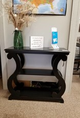 Crownmark Lucy Console Table - Black