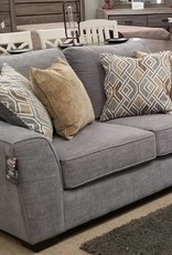 United Pompeii Silver Loveseat