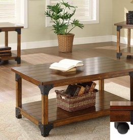 Crownmark William Coffee and End Table 3-Piece set