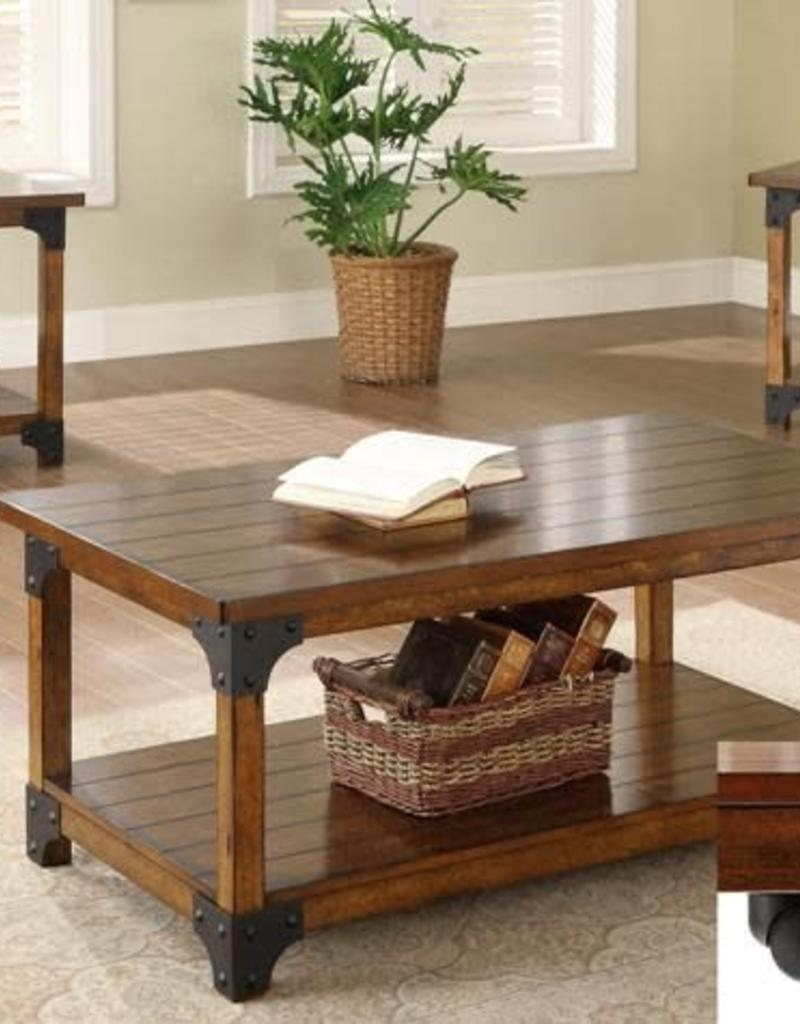 Crownmark William Coffee And End Table 3 Piece Set