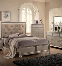 Crownmark B4390 Lila King Bedroom Set