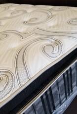 Corsicana C1 Platinum Carraway Eurotop Mattress Set - Queen Size