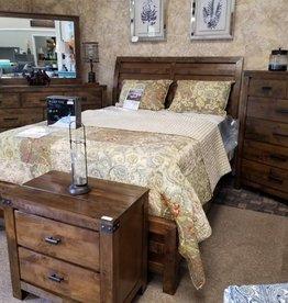 Crownmark Curtis Sleigh Bedroom Set - Queen Size