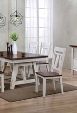 Bernards Winslow Dining Table w/ 4 Chairs and Bench