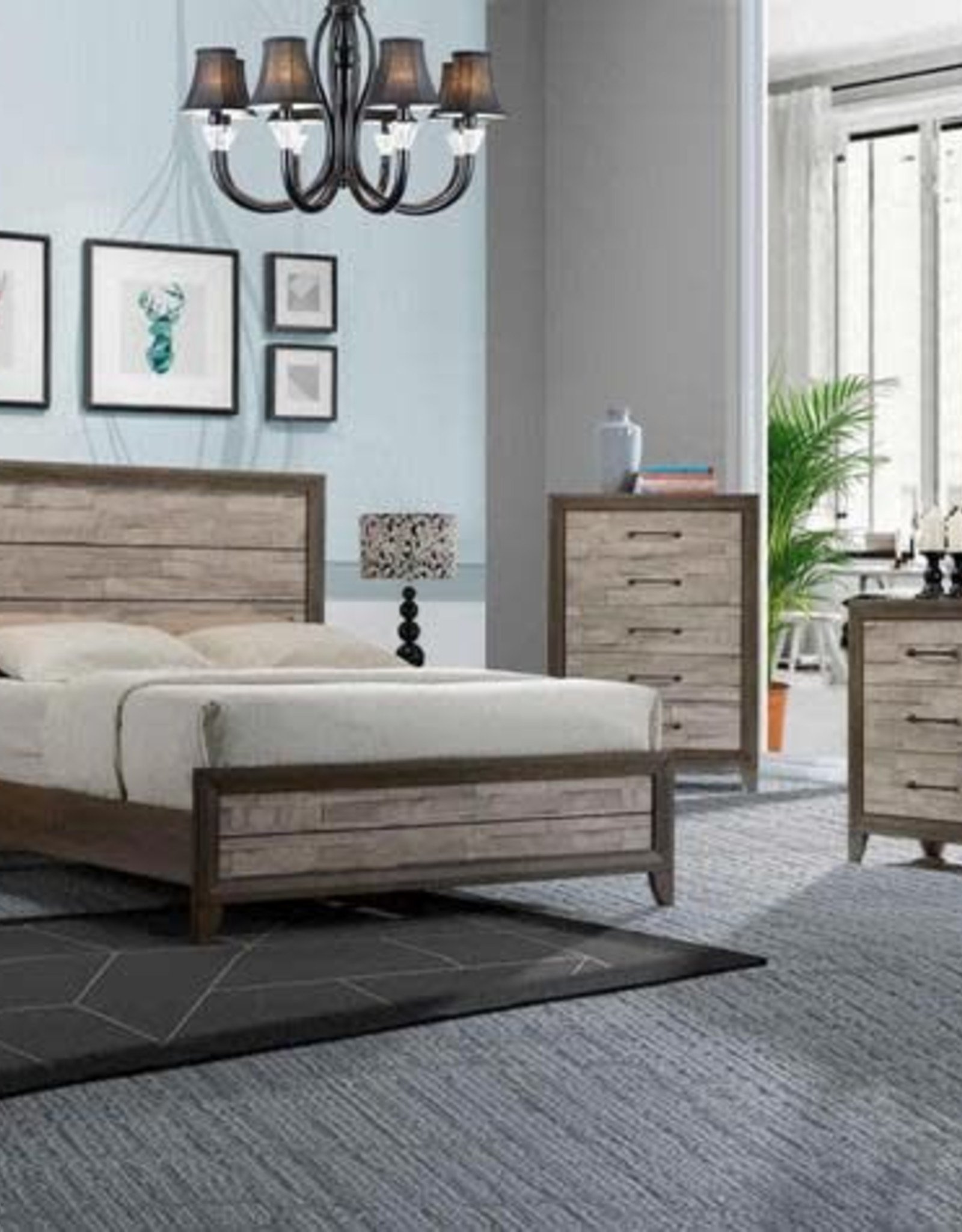 Crownmark Jaren Bedroom Set - Queen Size
