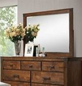 Crownmark Curtis Dresser with Mirror