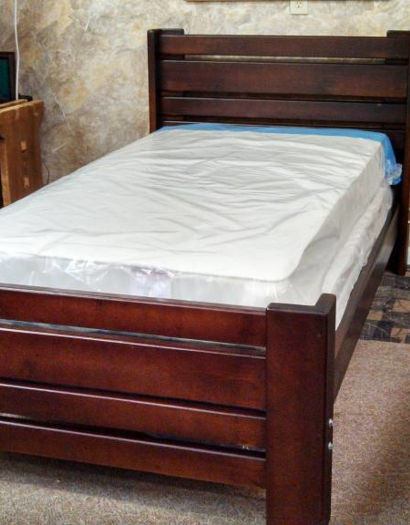 Bargain Bunks Plank Style Bed