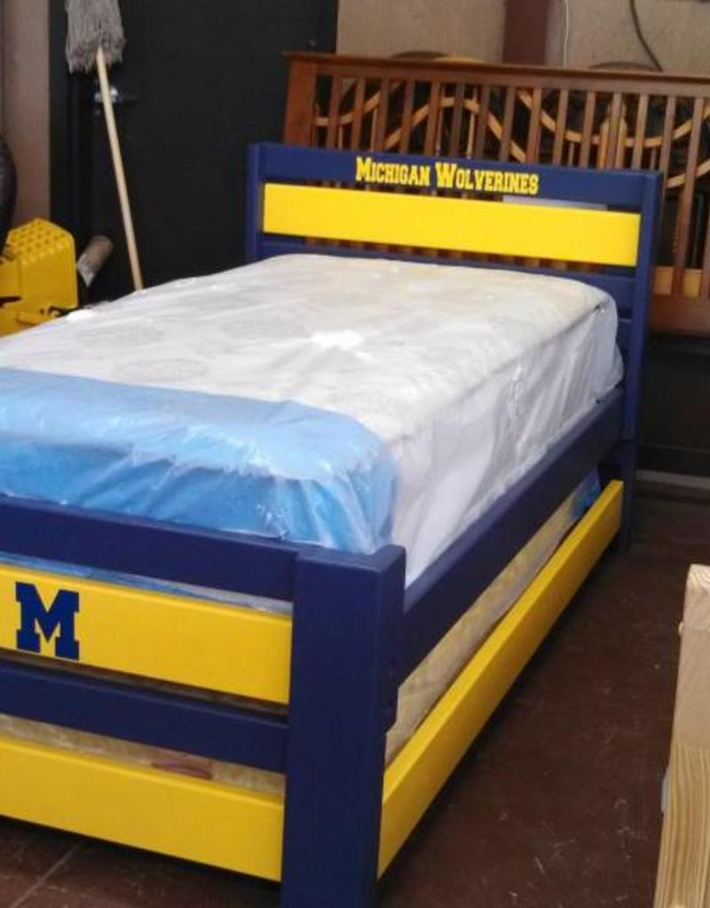 Bargain Bunks Plank W/ Trundle Style Bed