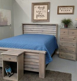 Bargain Bunks Plantation Style Bed