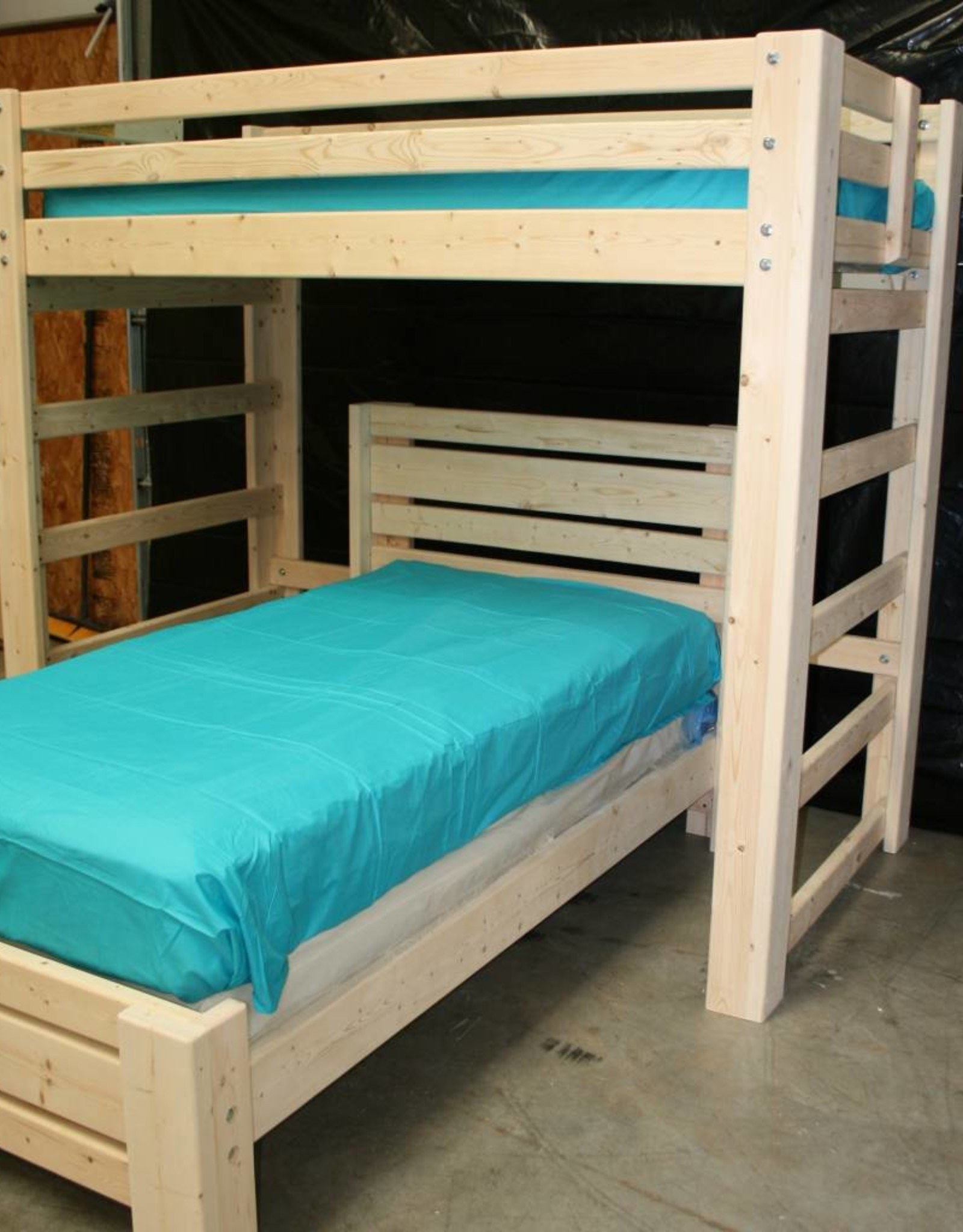 T Shape Bunk Bed Bargain Box And Bunks