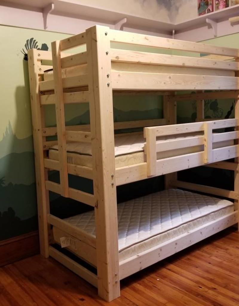 Triple Bunk Traditional Bargain Box And Bunks