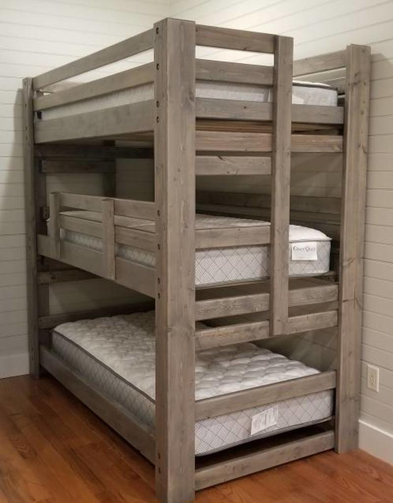 Bargain Bunks 3-Peat Triple Bunk Traditional