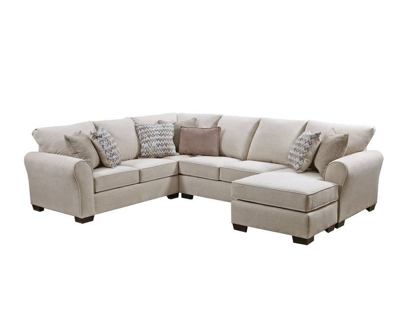 Boston Linen Sectional W Chaise Bargain Box And Bunks