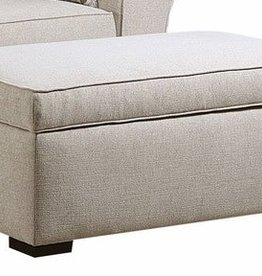 United Boston Linen Storage Ottoman