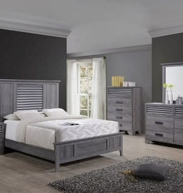 Crownmark Sarter Seaside Bedroom Set - King Size