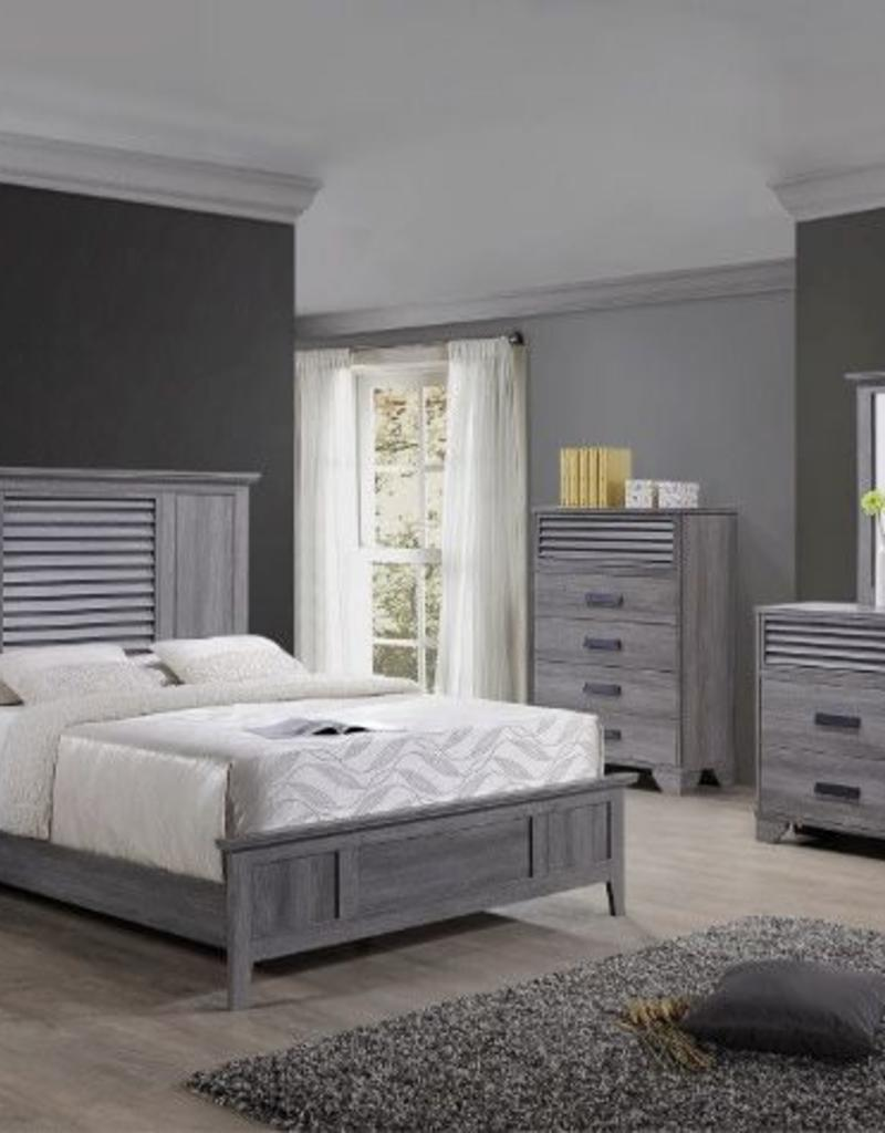 Crownmark Sarter Seaside Bedroom Set - King Size