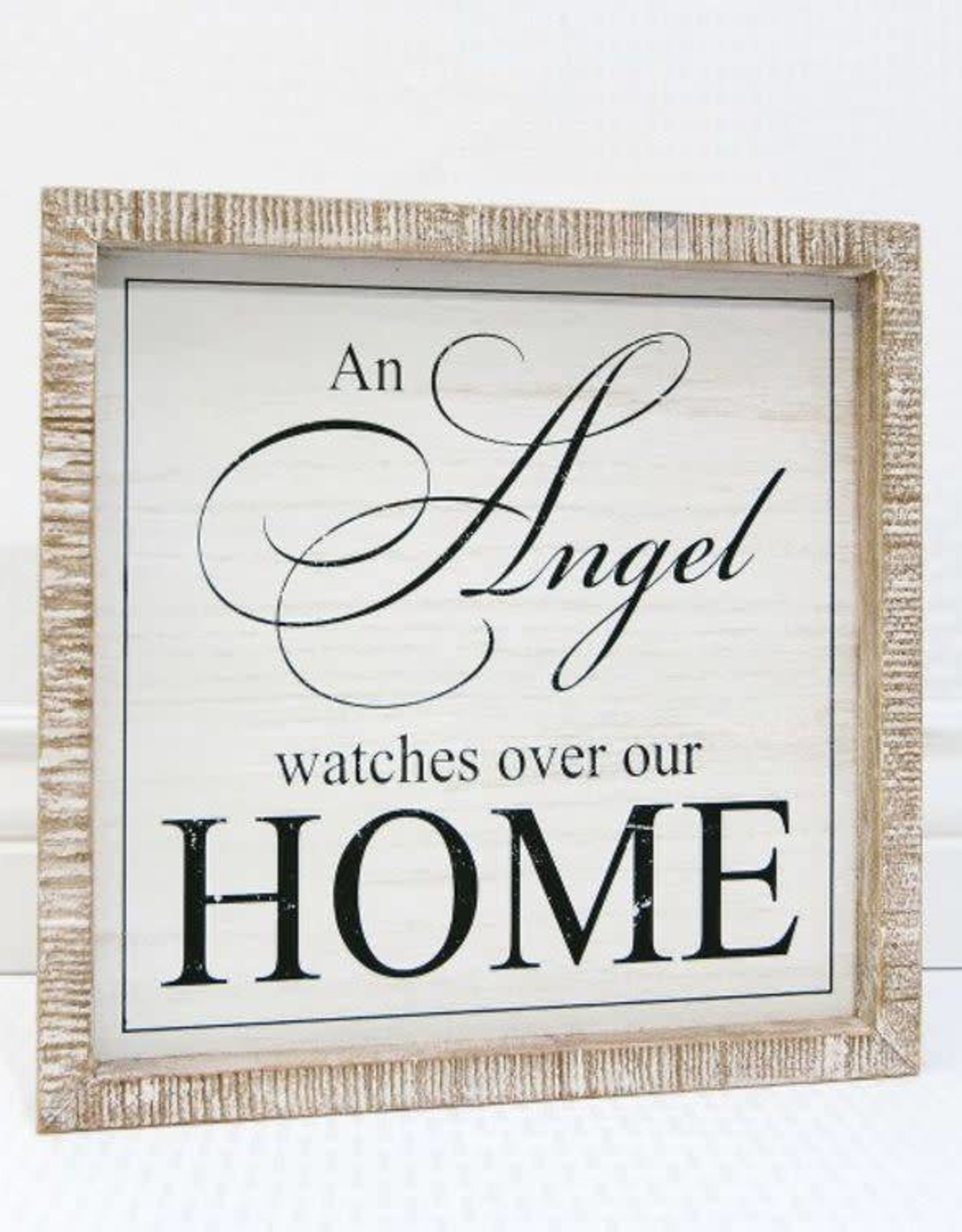 Adams & Co Angel watches over home