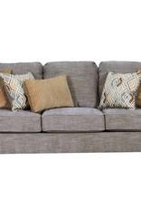 United Pompeii Silver Sofa