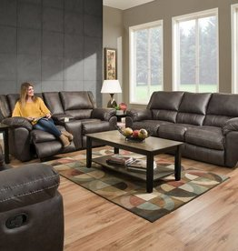 United Shiloh Granite Sofa, Loveseat and Power Rocker-Recliner