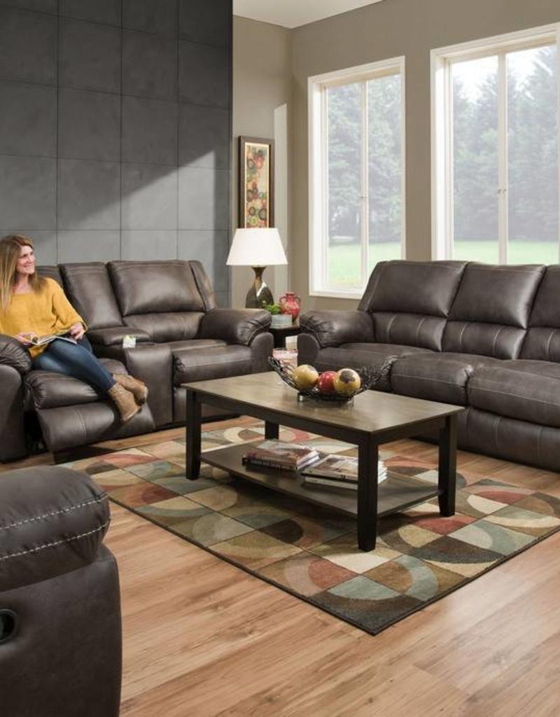 Shiloh Granite Sofa, Loveseat and Power Rocker-Recliner - Bargain ...