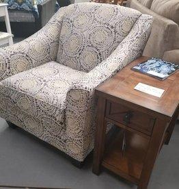 Lane Antique Mosaic Accent Chair