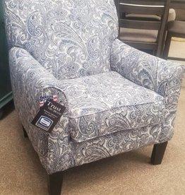 Lane Zulu Indigo Accent Chair