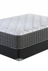 "Corsicana Kinley 715 13"" Plush-Top Mattress Set - King Size"
