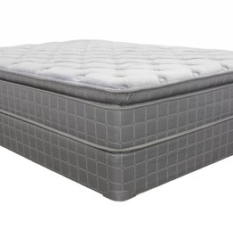 Corsicana Bramwell Teddy Bear Pillowtop Mattress Set - Twin