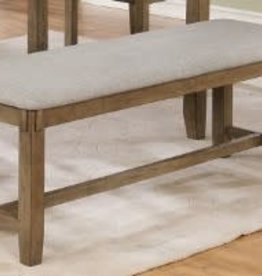 Crownmark Clara Dining Bench (Wheat)