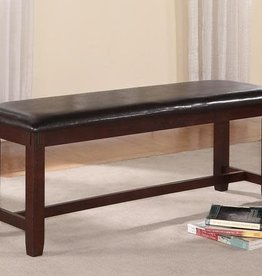 Crownmark Clara Dining Bench (Espresso)