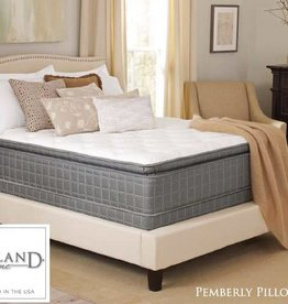 Corsicana Pemberly Tru-Cool Pillowtop Mattress Set - Queen