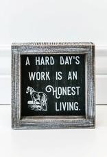 Adams & Co Work an Honest Living