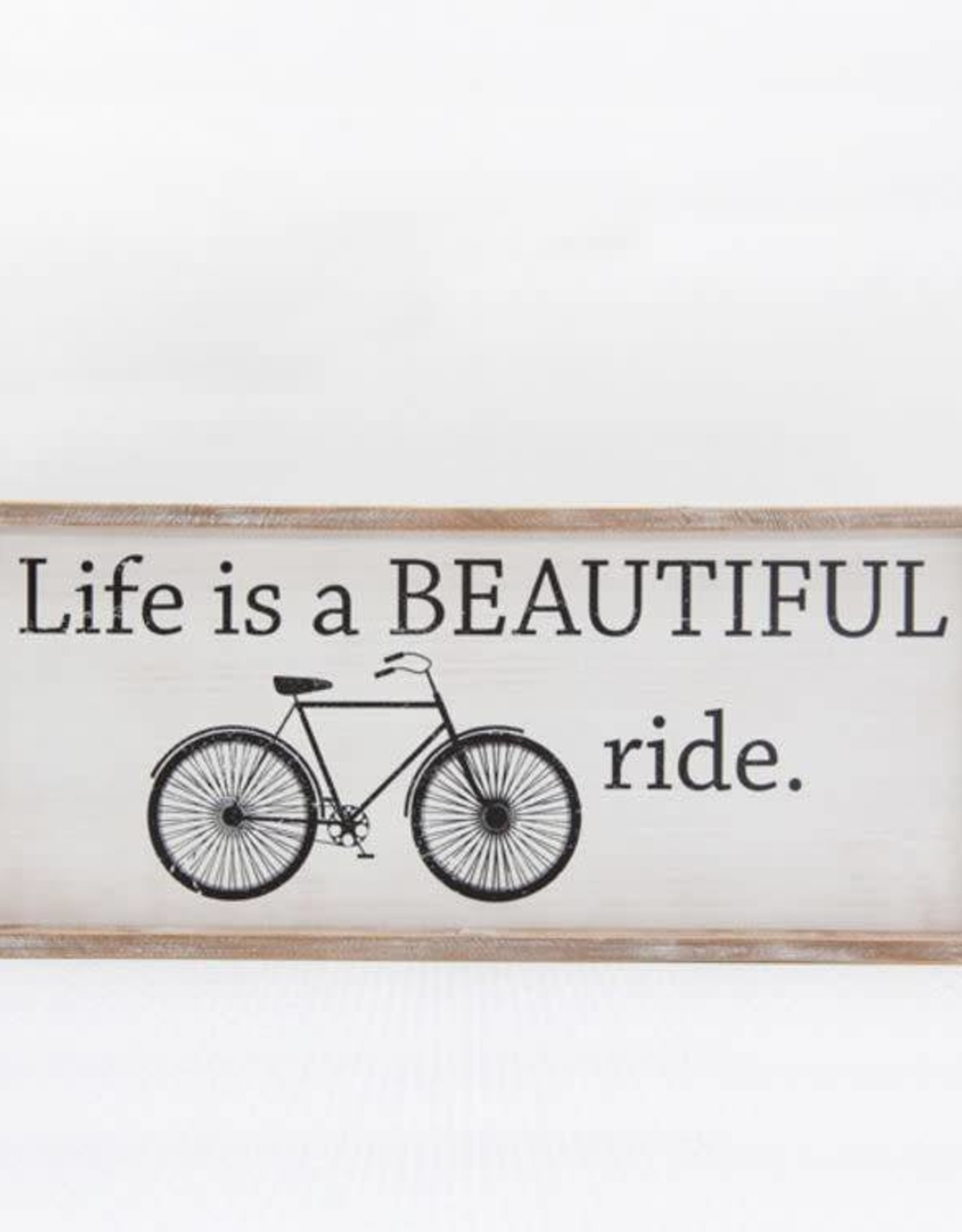 Adams & Co Life is Beautiful - Bicycle