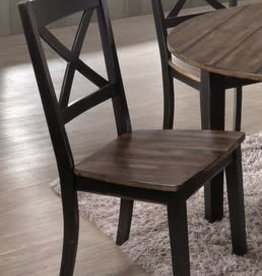 United A La Carte Dining Chair  - Black