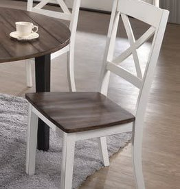 United A La Carte Dining Chair - White