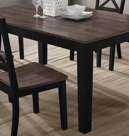 Lane A La Carte Rectangular Dining Table - Black