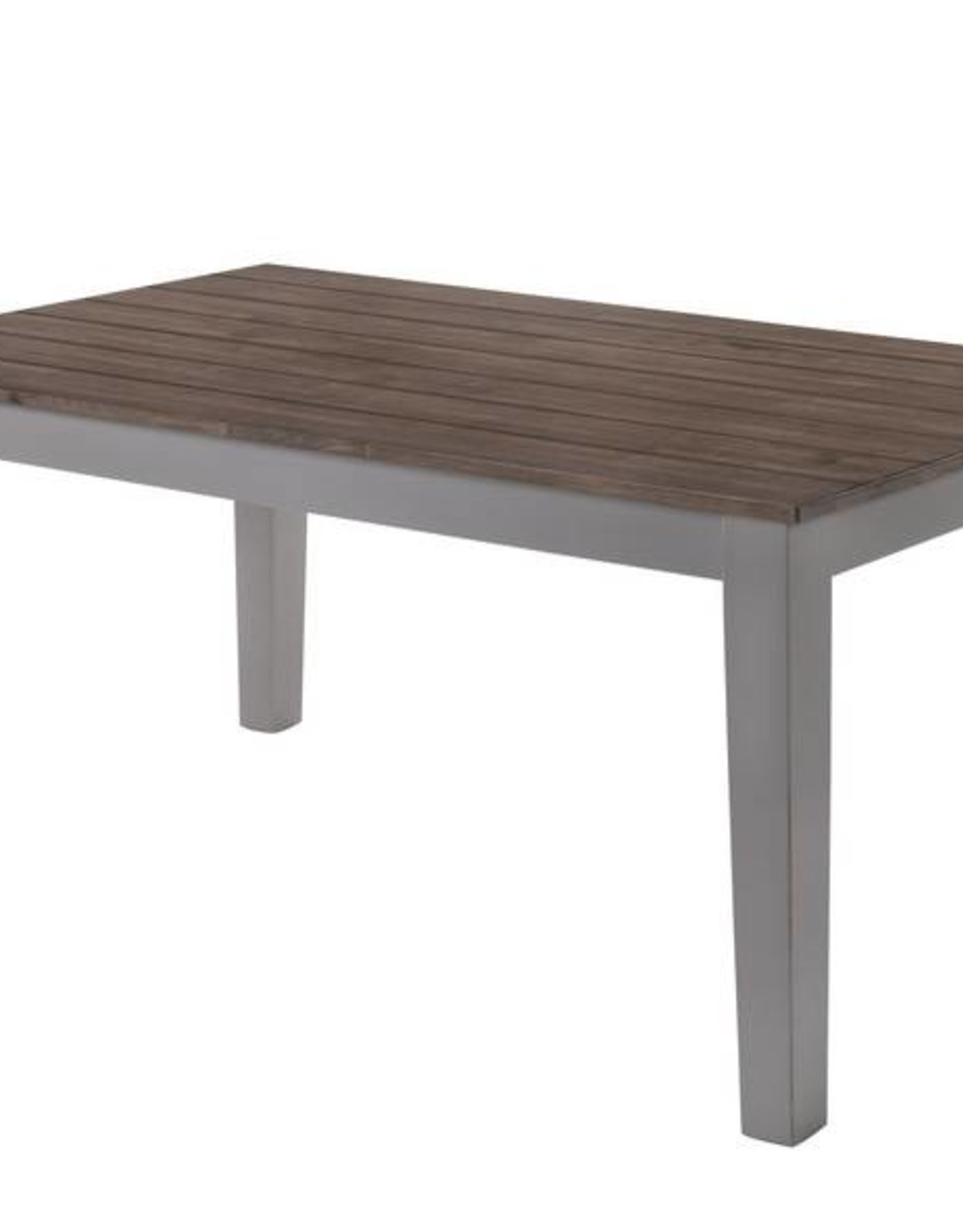 United A La Carte Rectangular Dining Table - Gray
