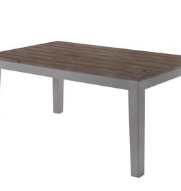 Lane A La Carte Rectangular Dining Table - Gray