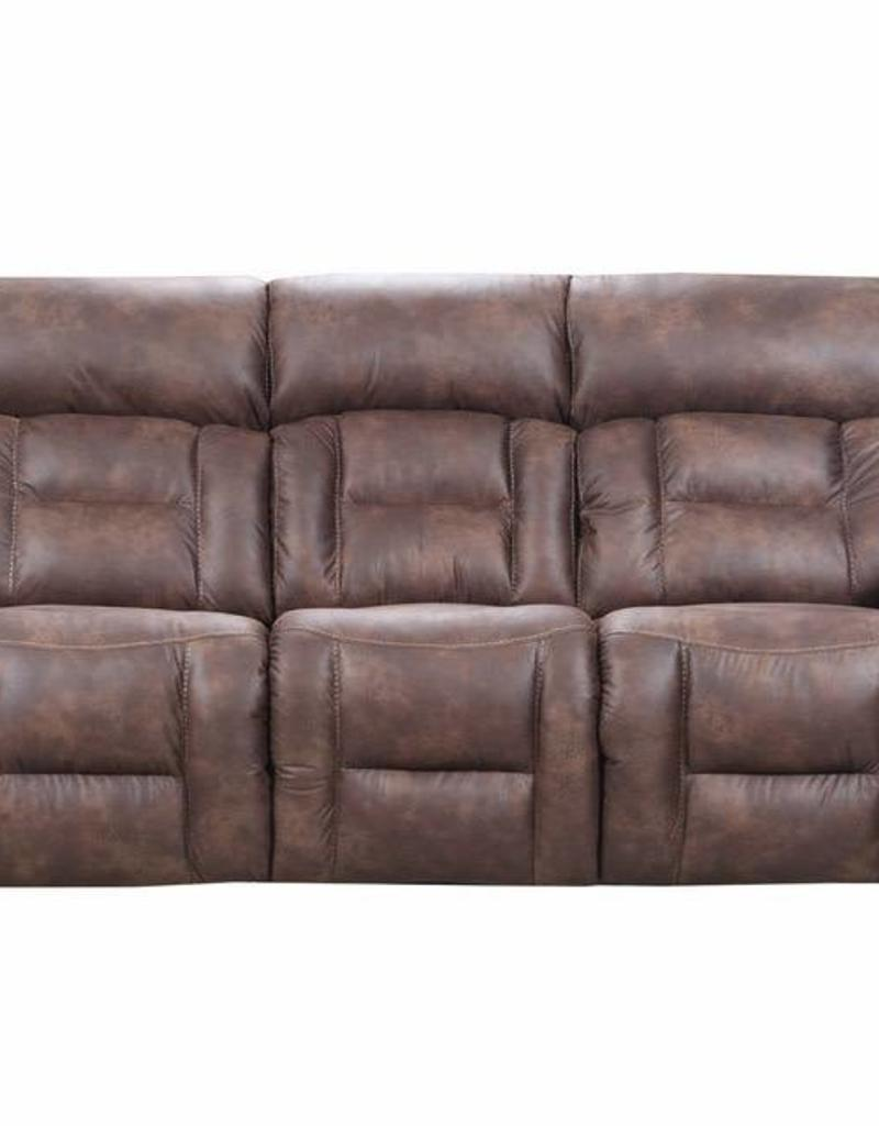 Dorado Walnut Dual Reclining Sofa No Power Bargain Box And Bunks