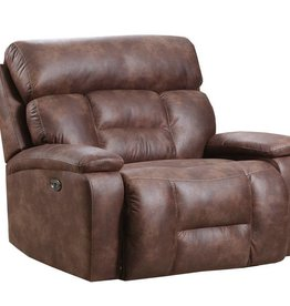United Dorado Walnut Cuddler-Recliner W/ Power