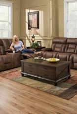 United Dorado Walnut Dual-Reclining Sofa and Love Seat Set - No Power
