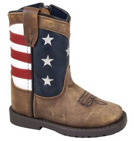 Smoky 3800 T<br /> Stars And Stripes <br /> Vintage Brown