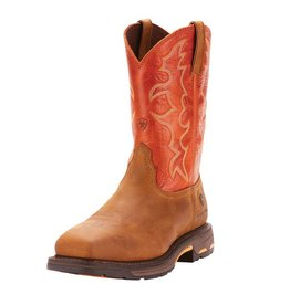 Ariat 10006961 WorkHog<br /> Wide Square Toe