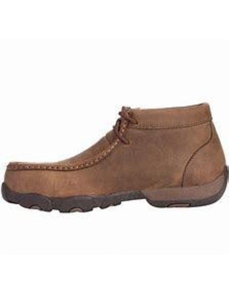 1880b39e8c6 Boots-Women Twisted X WDMST01, Wmn's Driving Moc Steel Toe
