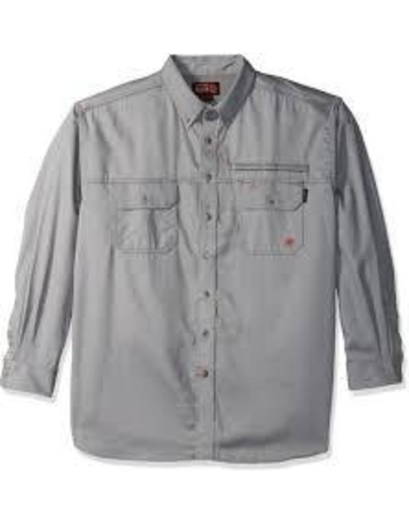 Tops-Men Ariat 10019063 FR<br /> Flame Resistant Silver Vent
