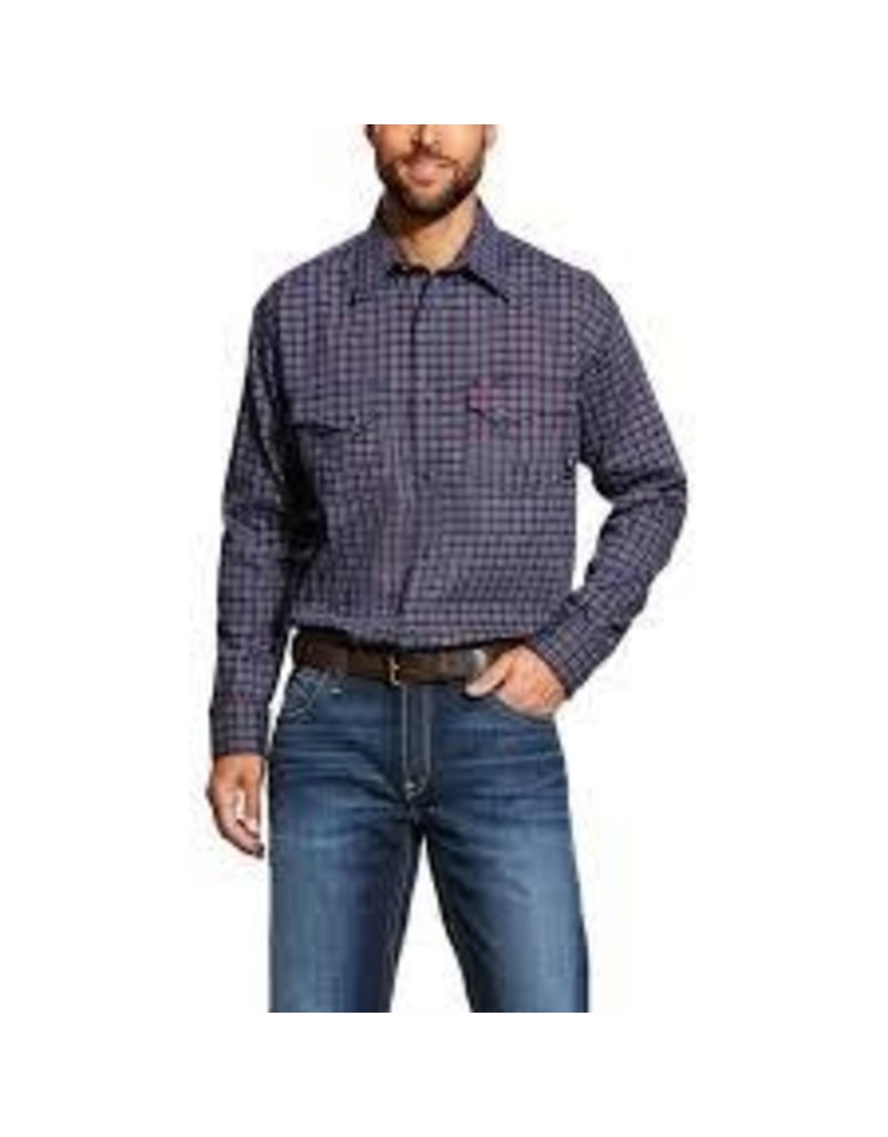 Tops-Men Ariat 10025423 FR<br /> Flame Resistant Plainview Snap