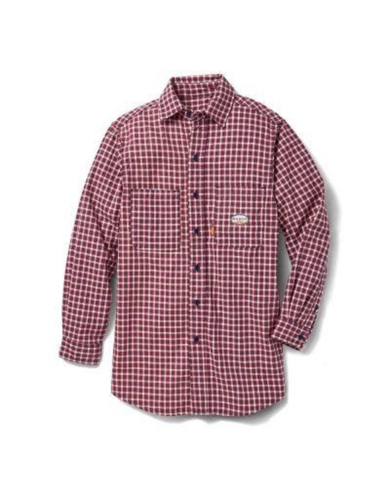 Tops-Men RASCO FR0824RD<br /> Flame Resistant WorkwearDress & Plaid Shirts