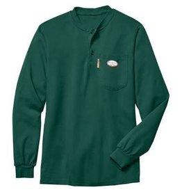 Tops-Men RASCO FR0101GN<br /> Henley T-Shirt