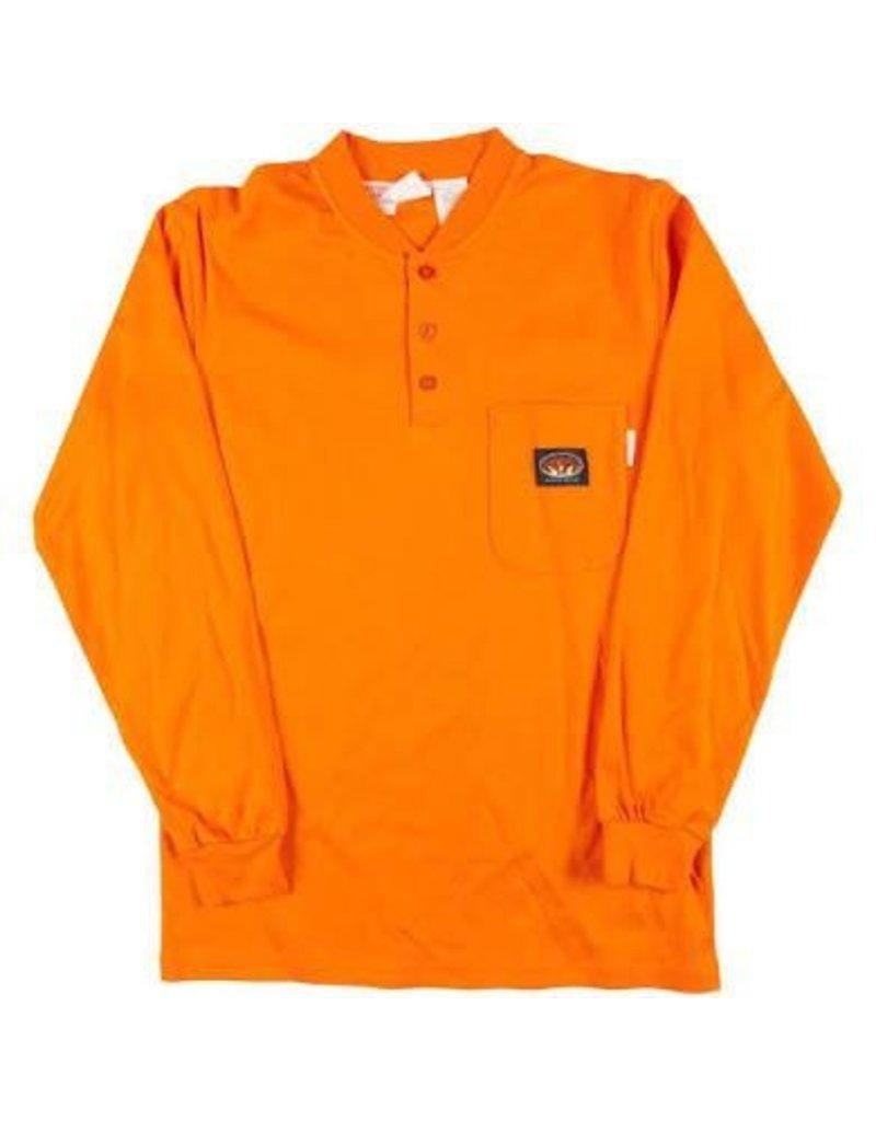 Tops-Men RASCO FR0101OR<br /> Henley T-Shirt
