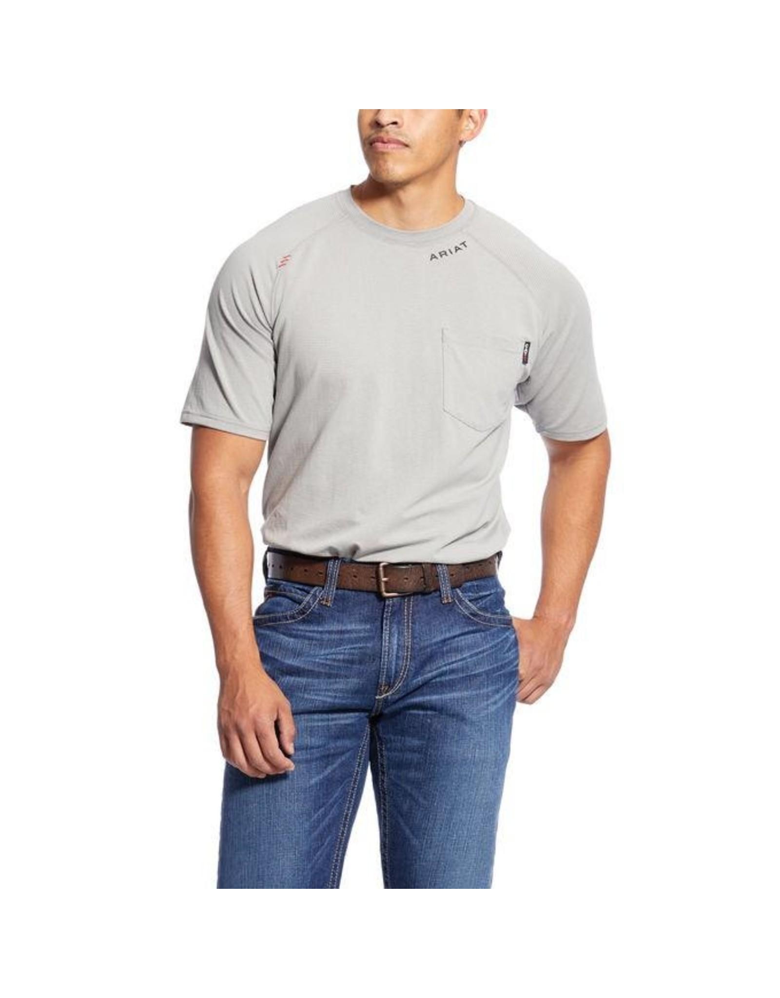 Tops-Men Ariat 10025434<br /> FR Short Sleeve Baselayer